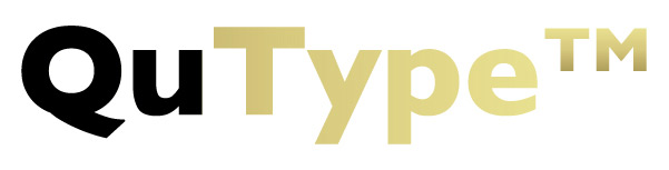 QuType logo designed by inframes 2014